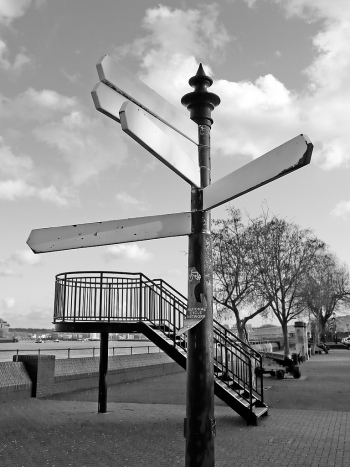 Signpost at Deptford