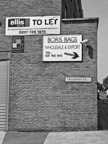 Boris Bags, Hackney Road