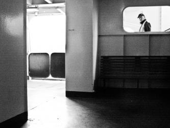 On board the Woolwich Ferry 3