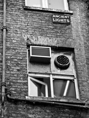 Ancient Lights, Rupert Court, Soho