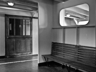 On board the Woolwich Ferry 9