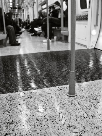 London Overground, Muddy Floor - click to enlarge