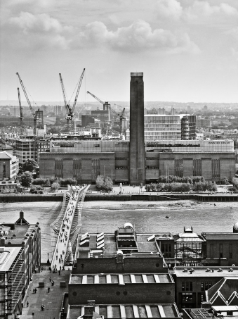 Tate Modern from St Paul's - click to enlarge