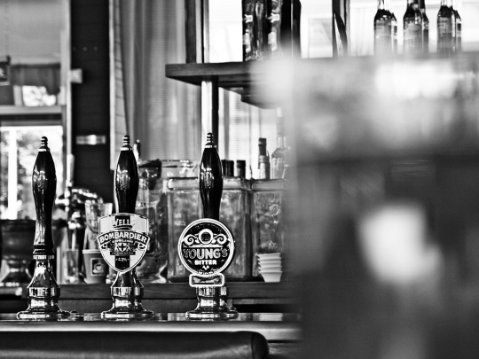 Beer Pumps - click to enlarge
