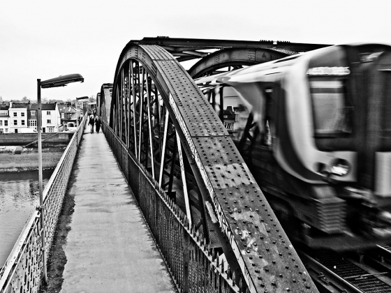 Barnes Bridge - click to enlarge