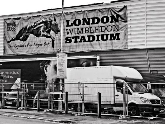 Wimbledon Greyhound Stadium - click to enlarge