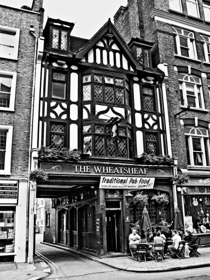 The Wheatsheaf, Rathbone Place, W1 - click to enlarge
