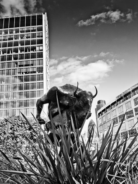 Minotaur, Barbican Highwalk