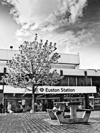 Euston station - click to enlarge