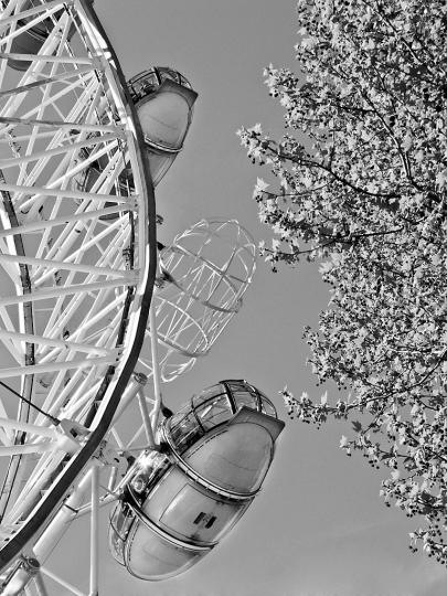 Missing pod on London Eye