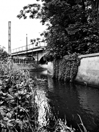 River Ravensbourne, Lewisham town centre (1) - click to enlarge