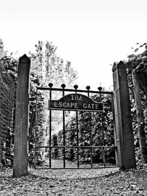 Maze Escape Gate, Crystal Palace Park - click to enlarge