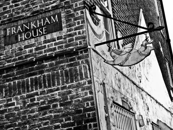 Frankham House. Crossfields Estate, Deptford - click to enlarge