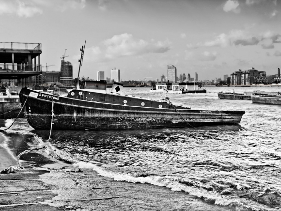 Wood Wharf, Greenwich - click to enlarge