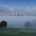 Greenwich Park in fog, December 2013 - click to enlarge