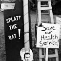 Save Lewisham Hospital protest, Mountsfield Park, Catford - click to enlarge