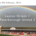 Rainbow over Brisbane Road - click to enlarge