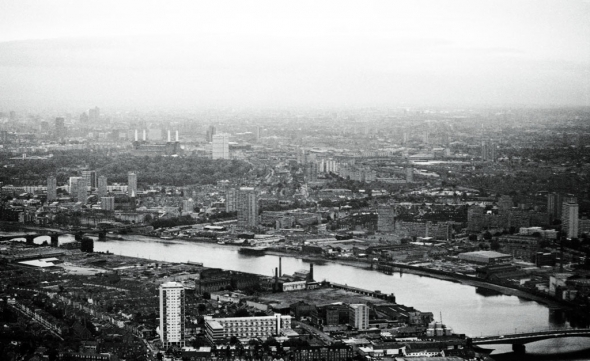 Battersea from the air, mid-1980s - click to enlarge