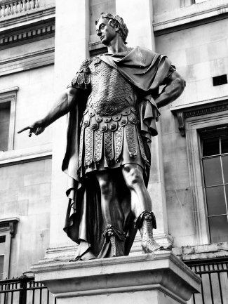 Statue of James II, Trafalgar Square - click to enlarge