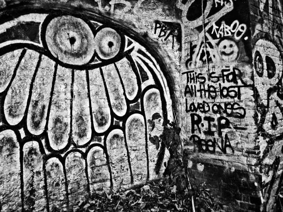 Graffiti, Parkland Walk, Crouch End