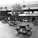 Euston station forecourt