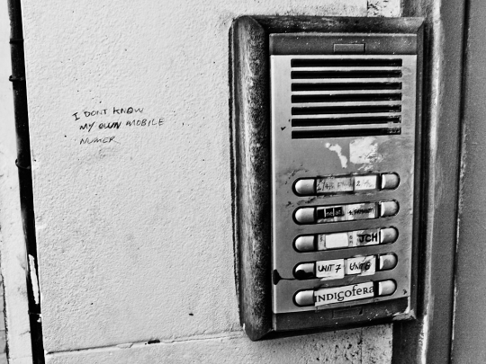 Door Buzzer, Kingsland Road