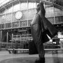 John Betjeman statue, St Pancras