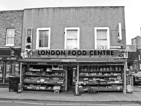 Food Centre, Roman Road, Bow