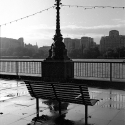 Empty Bench, South Bank  – photo © Asya Gefter