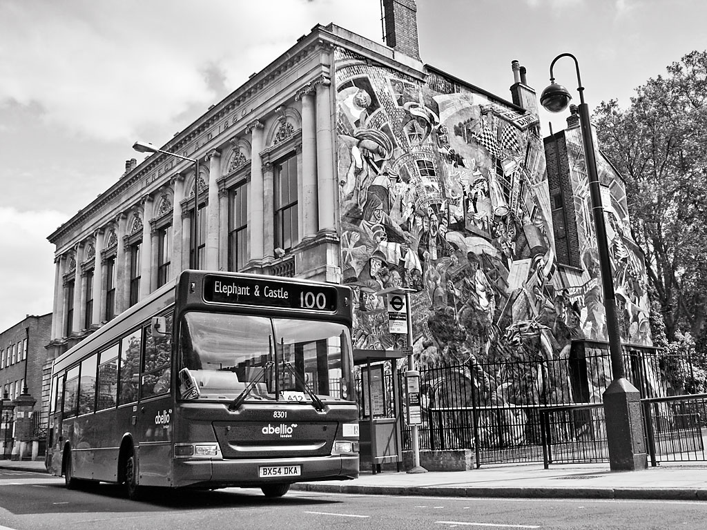 Anti-fascist mural, Cable Street