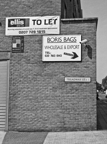 Boris Bags, Hackney Road