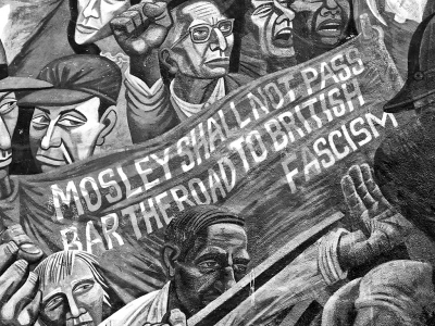 Anti-fascist mural, Cable Street