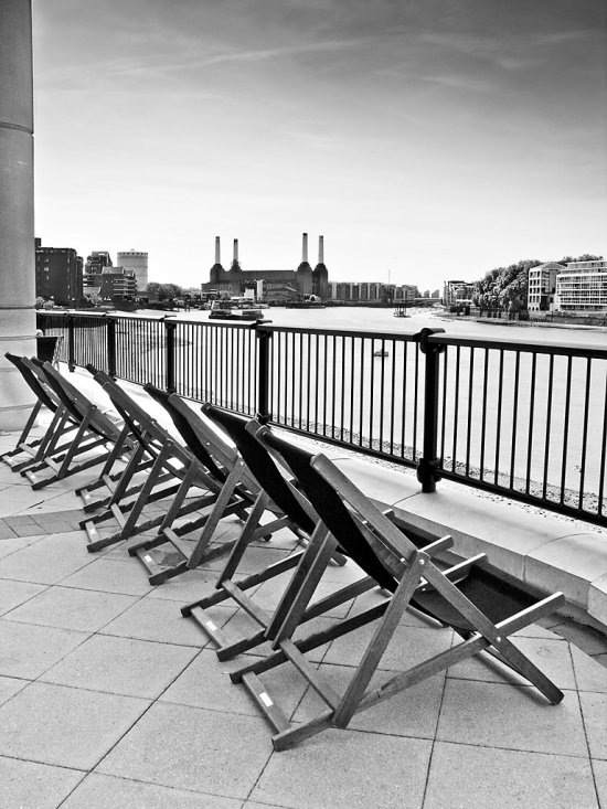 Deckchairs at Vauxhall