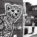 Cheetah graffiti, Camberwell Passage