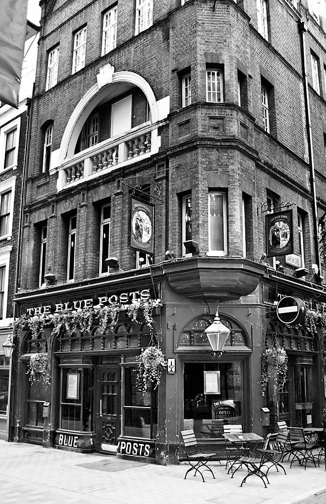 Blue Posts, Kingly Street