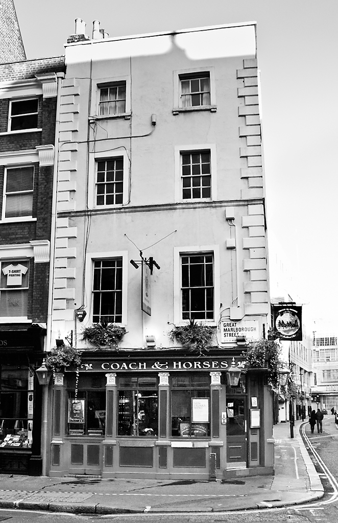 Coach & Horses, Great Marlborough Street
