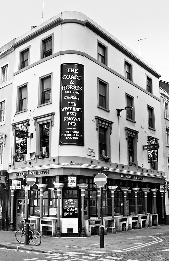 Coach & Horses, Greek Street