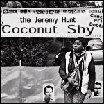 The Jeremy Hunt Coconut Shy