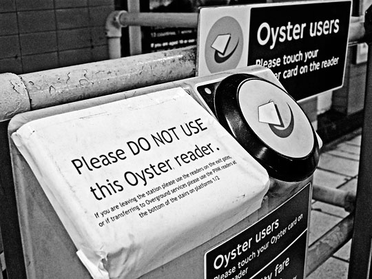 No Oyster