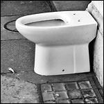 Bidet Is For Customers' Use Only